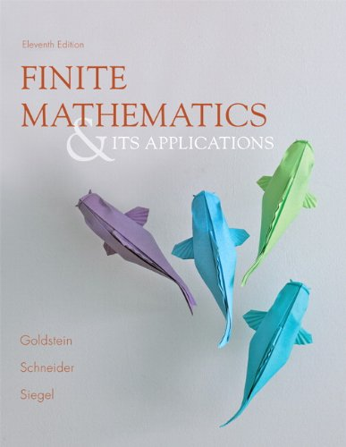 Books : Finite Mathematics & Its Applications (11th Edition)