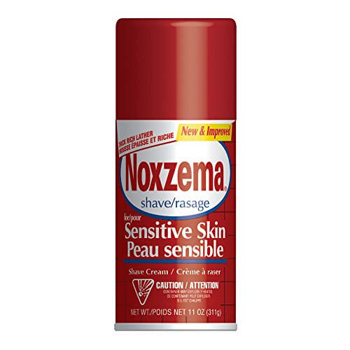 Noxzema Medicated Shave Cream for Extra Sensitive Skin - 11 Oz (Pack of -
