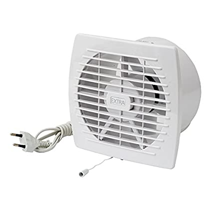 Ventilador baño Ventilador Ventilador de pared Baño de ventilador para inodoro baño o la cocina temporizador