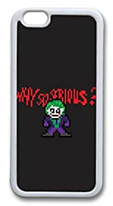 iphone 6 4.7inch Case and Cover Pixelated Joker TPU Silicone Rubber Case Cover for iphone 6 4.7inch White by runtopwellby Maris's Diary
