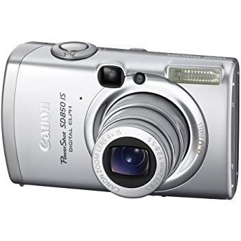 Canon PowerShot SD850 IS 8.0 MP Digital Elph Camera with 4x Optical Image Stabilized Zoom (OLD MODEL)
