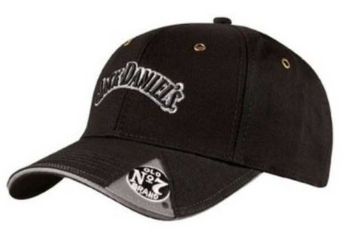 Jack Daniels Men's Daniel's Old No. 7 Cap Black One (Old Western Hats)