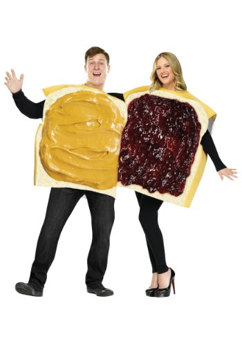 Cradle Robber Couple Costumes - FunWorld Peanut Butter And Jelly Set,