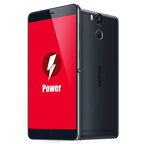 "Ulefone Power 4G LTE Smartphone 5.5""Inch Dual Sim Mobile Phone MTK6753 Octa Core Fingerprint ID 3GB RAM 16GB ROM 13.0MP (Ulefone Power-Blue)"