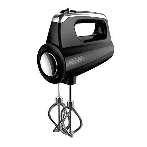 BLACK+DECKER MX600B Helix Performance 5-Speed Hand Mixer & Case Black