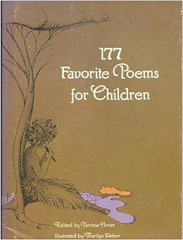 177 Favorite Poems for Children: Patricia, editor Horan