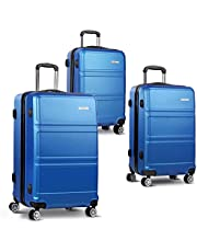 Wanderlite Luggage Suitcase Sets with Scale and Lock