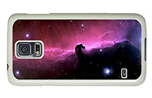 Hipster free shipping Samsung Galaxy S5 Cases horsehead nebula PC White for Samsung S5