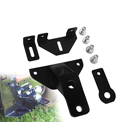 tiewards Universal Lawn Garden Tractor Hitch Support Brace Kit Combination (Tractor Mower Hitch)