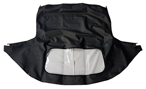 - 1989-2005 Mazda Miata Convertible Top w/Rear Plastic Curtain (1 Piece)