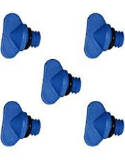 Manifold Engine Block Drain Plug Kit Replaces Sierra 18-4226 for Mercruiser 22-806608a02 Compatible with GLM 13992 Pack of 5