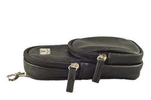 Valentia Cigars Leather Cigar Case, Black