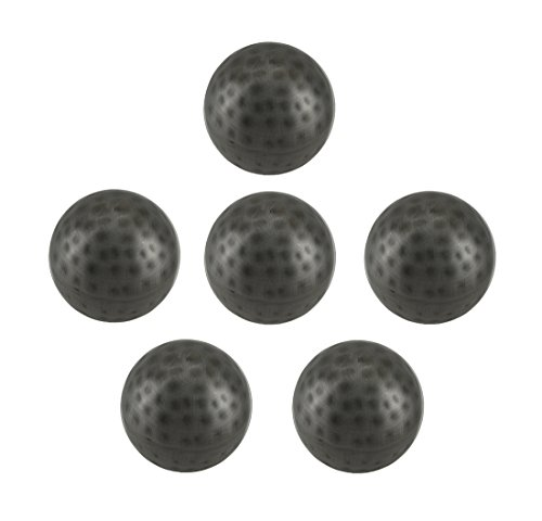 ue Silver Finish Dimpled Metal Decor Ball Set 3 Inch ()