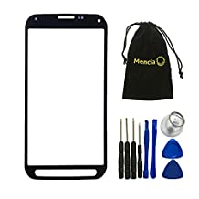 Mencia Screen Glass Lens Replacement For Samsung Galaxy S5 Active G870 G870A With Openning Tools(Grey)