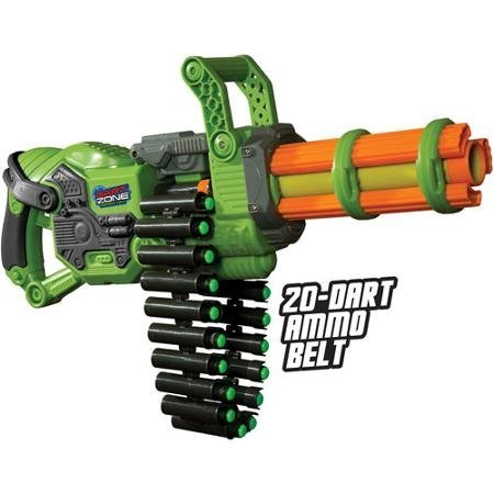 Prime Time Toys Dart Zone Scorpion Motorized Automatic Gatling Blaster -