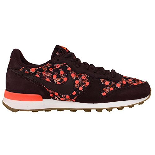Zapatos de entrenamiento Nike Wmns Internacionalista Lib Qs deporte Deep Burgundy/Bright Mango