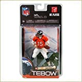 Mcfarlane NFL Series 23 Tim Tebow Denver Broncos Orange Jersey Chase Alternate Variant Mcfarlane Action Figure Individually Serialized