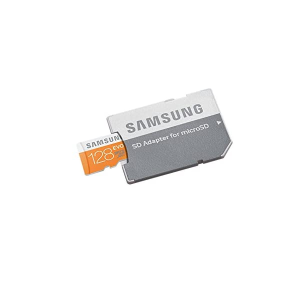Samsung 128GB EVO Class 10 Micro SDXC Card with Adapter up to 48MB/s (MB-MP128DA/EU) 2 Up To 48Mb/S Transfer Speed Great For Cell Phones, Smartphones, Android Tablets, Tablet Pcs Great Speed And Performance For Full Hd Video Recording, High Resolution Pictures, Mobile Gaming, Music And More