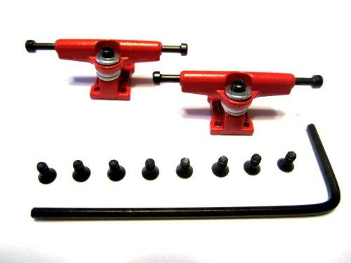 Red Allen Key Fingerboard Trucks - Wooden Fingerboards-Tech