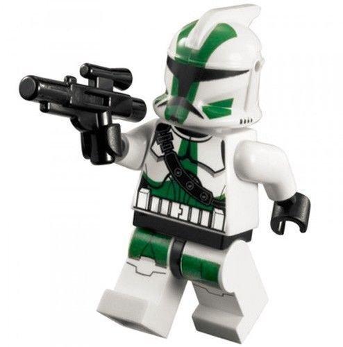 NEW LEGO COMMANDER GREE MINIFIG figure minifigure 9491 clone trooper