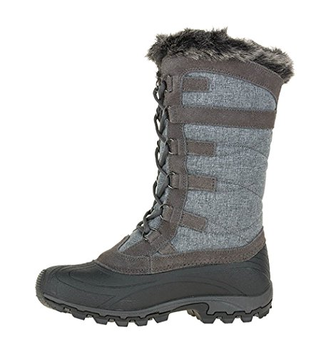 Kamik Damen Snowvalley Boot Holzkohle