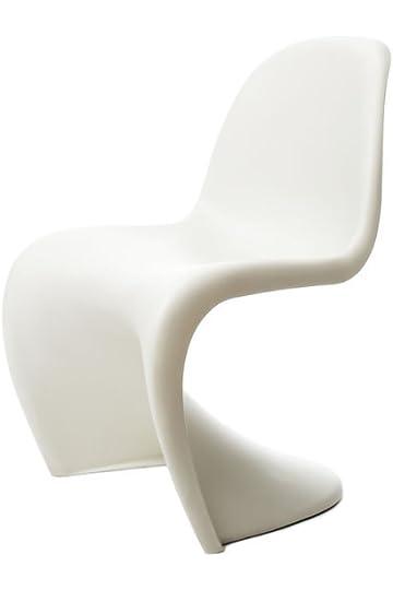 amazon com vitra panton chair white chairs