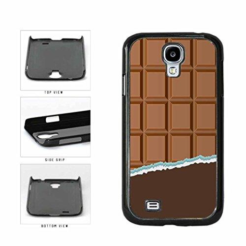 BleuReign(TM) Yummy Unwrapped Chocolate Bar Plastic Phone Case Back Cover Samsung Galaxy S4 I9500
