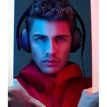 Original MI Gaming Headphones Virtual 7.1 Surround Sound with 40mm Driver LED Lights Detachable USB and 3.5mm Audio Plug (Black)