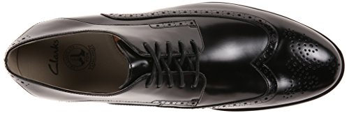 Clarks Gatley Limite Oxford Black Leather