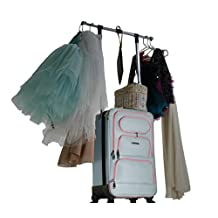 "The Dance Angel Suitcase Carry-On Aqua/Pink ""Electric Periwinkle"""