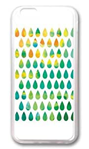 Apple Iphone 6 Case,WENJORS Adorable Monsoon Rain Soft Case Protective Shell Cell Phone Cover For Apple Iphone 6 (4.7 Inch) - TPU Transparent hjbrhga1544 by icecream design
