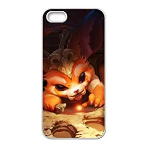 iPhone 5 5s Cell Phone Case White League of Legends Gnar 0 KWI8871068KSL