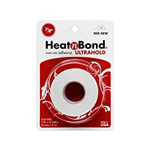 "Thermoweb Heat'n Bond Ultra Hold Iron-On Adhesive-7/8""X10 Yards"