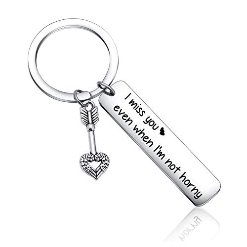 Boyfriend Christmas Gift Long Distance Relationship Keychain for Best Friend Gift Husband Gift Bride Gift Groom Gift Anniversary Gift Fiance Gift Husband Valentines Gift Hubby Keychain Couple Keychain