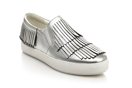 1TO9 Mms05782, Sandales Plateforme Femme silver