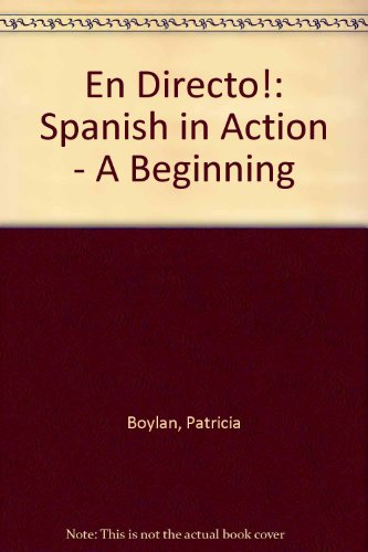 ¡En directo! A Beginning Course (Second Edition, 1994) (English and Spanish Edition)