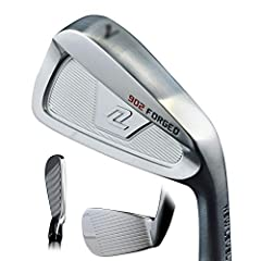 New Level Golf 902 Forged Iron Set ?Our new, 902 irons incorporate all of the modern features you'd expect to see in a game improvement iron, but with a compact size, reduced offset, and thin topline. The muscle cavity and undercut sole provi...
