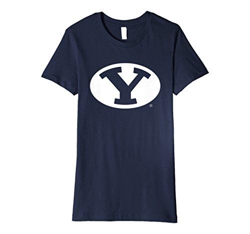 - Womens BYU Cougars Brigham Young NCAA Women's T-Shirt RYLBYU06