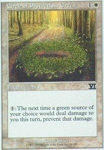 Magic: the Gathering - Circle of Protection: Green - Sixth Edition