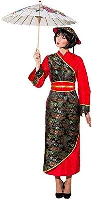 ORLOB KARNEVAL GmbH Disfraz de mujer china tamaño EU 48 vestido ...