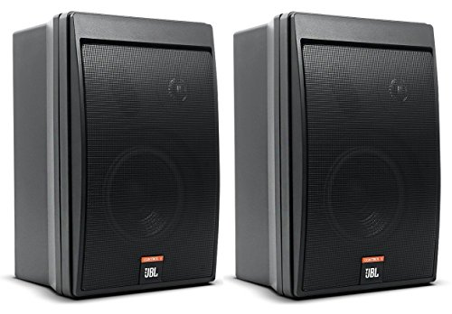 JBL CONTROL 5 Compact Control Monitor Loudspeaker System (sold as pair), Black ()