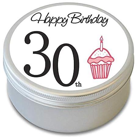 BUZZ Vela perfumada con Aroma a 30 cumpleaños - 30 ...