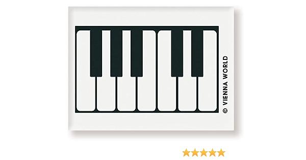 Goma de música, diseño de teclado