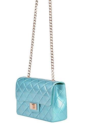 Bleu INVERSO DESIGN Pochette Claire MCGLBRE03095E Femme Plastique O1fq0