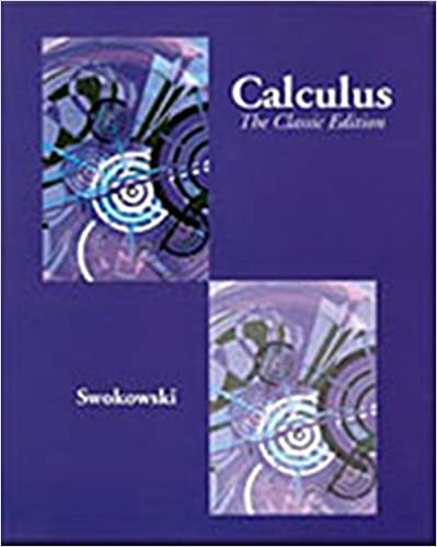 solution manual for calculus swokowski 5th ed