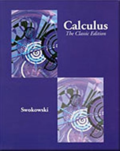 Calculus: The Classic Edition