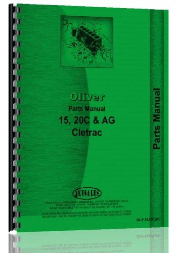 Oliver Cletrac Crawler Parts Manual