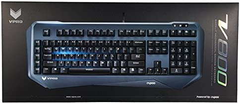 Rapoo Vpro V800 Beleuchtete Mechanische Gaming Tastatur Elektronik