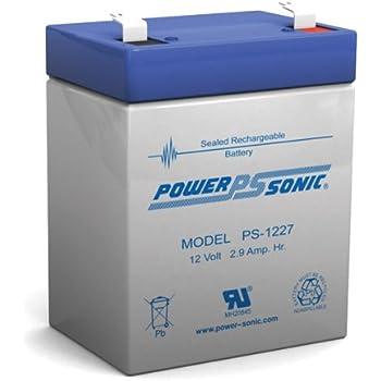 Amazon.com: LP12 – 2,9 12 Volt 2,9 Amph SLA Batería de ...