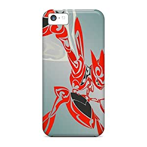 Hot Tribal Scizor Case Cover Compatible With Iphone 5c